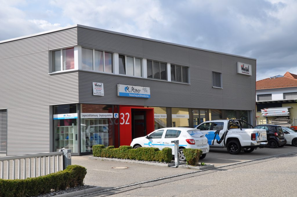 Gebäude Moser Hauswartung